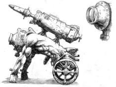 Human Mortar