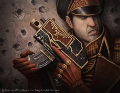 Commissarial Bolt Pistol